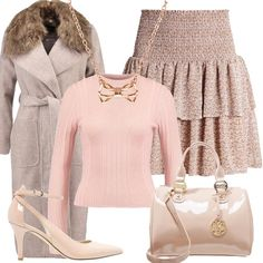 Outfit La minigonna a balze