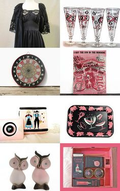 Sometimes I Think in Black and Pink by Melanie on Etsy--Pinned with TreasuryPin.com