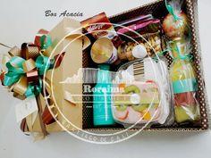 Box Acacia Desayuno en caja 30x 30cm Acacia, Gourmet, Crates, Desserts