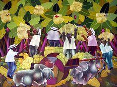 The Banana Pickers by Ivonaldo Veloso de Melo
