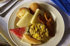 Jamacian Salt fish and Ackee