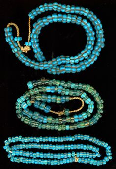 Burmese Beads, same exact beads that are used in parts of Thailand, eastern India, etc. Their source of manufacture is most likely central to northern India.