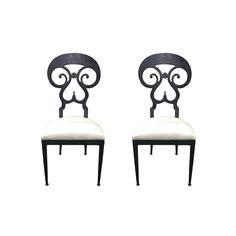 New Arrivals at Viyet | Vintage Metal Frame Side Chairs