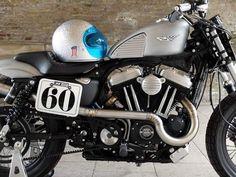 Os Motociclistas Made in Brasil: Harley-Davidson Sportster 883R  StreetTracker by C...