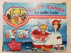 Candy-Candy-le-mille-bolle-polistil-Rarissimo-anni-80-nuovo-in-box-fabbri