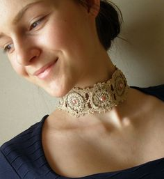 Ružová perla - náhrdelník...