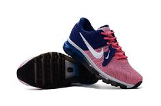 competitive price 46c8c bebdc Purchase This Nike Air Max 2017 Pink Deep Blue Womens Sneakers Online Shop