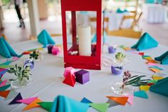 A geometric rainbow wedding at the Washington Park boathouse in Denver, Colorado from Happy Confetti Photography Wedding Themes, Wedding Blog, Diy Wedding, Wedding Ideas, Wedding Programs, Amazing Weddings, Real Weddings, Wedding Centerpieces, Wedding Decorations