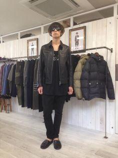 [Alexandros]川上洋平2014/6/21 VIRGOの展示会に御来場!14秋冬の新作レザージャケットお似合いです!