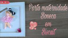 DIY Porta Maternidade Boneca em Biscuit