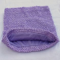 Lavender crochet tutu top - 12 X 10 inches - Fully lined - $7 shipped