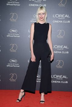 Marjan Jonkman attends the Gala 20th Birthday Of L'Oreal In Cannes during the 70th annual Cannes Film Festival at Martinez Hotel on May 24, 2017 in Cannes, France.