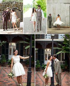 Krátké svatební šaty? Proč ne! | Originální Svatba