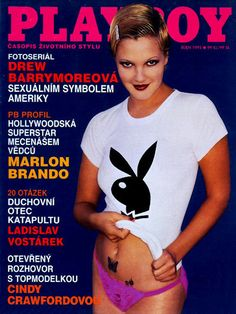 Playboy (Czech Republic) October 1995  with Drew Barrymore on the cover