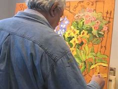 Claude A Simard Painting 2010 Happy Paintings, Great Paintings, Garden Painting, Painting & Drawing, Impressionist Paintings, Landscape Paintings, Painting Tutorials, Art Tutorials, Artist Studios