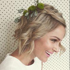 Love a short hair doo #shorthair #hair #makeup #five_littlebirds fabulous stylist @natcrighton