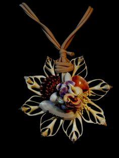 Ciondolo conchiglia - bigiotteria - artigianale