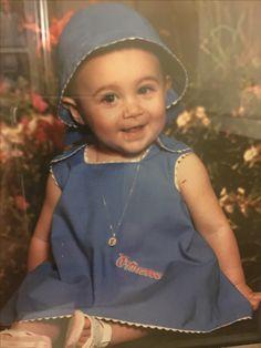 Sombrerito y vestido para Stephanie mi nieta