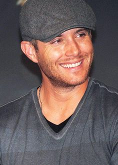 "decided it's time to give this gorgeous man his own board. It's called ""Green Eyes and Freckles (Jensen Ackles)"""