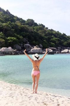 Nangyuan Beach, near Koh Tao in Thailand- perfect for snorkelling
