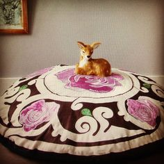 Rosalisa Floorcushion Inna Rose #interior #interiorstyling #interiordesign #interiordesigner #colorful #home #styling #homedecoration… Ottoman, Villa, Boho, Instagram, Home Decor, Decoration Home, Room Decor, Bohemian, Home Interior Design