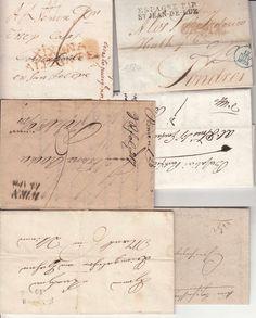 48-744 6 db bélyeg előtti levél