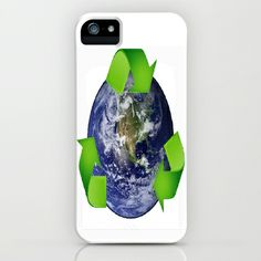 Reduce Reuse Be Good  iPhone & iPod Case by T.E.Perry  - $35.00