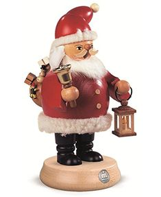 German incense smoker Santa Claus height 20 cm  8 inch original Erzgebirge by Mueller Seiffen >>> Read more reviews of the product by visiting the link on the image.