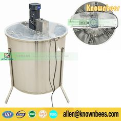 688.92$  Watch here - http://ali39v.shopchina.info/go.php?t=32729248307 - free ship 6 frames electric Honey Extractor Used For Honey Process 688.92$ #magazineonline