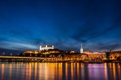 Bratislava by night by Martin Michiels on 500px