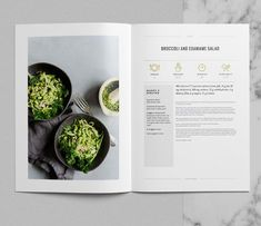 Tribeca Cookbook This 24 page Indesign template is a stylish and fully customizable way to present your hierarchal information like recipes. Whilst we've used the Tribeca template as a cookbook, this versatile template can be used as a portfolio or l Layout Design, Graphisches Design, Food Design, Design Ideas, Interior Design, Recipe Book Templates, Cookbook Template, Printable Recipe, Recipe Book Design