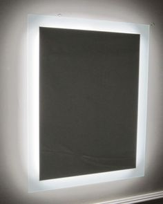 Glacier bay 15 in x 26 in surface mount led mirror - Bathroom vanities 32 inches wide ...