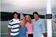 Logan,Mom, Me, Fonz- 2000