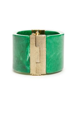 House of Harlow 1960 Classic Resin Cuff Bracelet