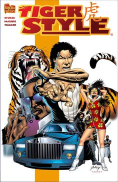 Tiger Style Cover by Paul Gulacy and Matt Yackey by OfficialArenaComics.deviantart.com