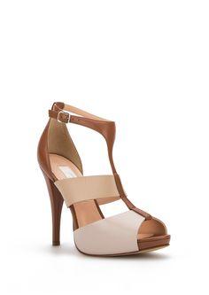 b91304663ca SANDALIA TACÓN PIEZA - Zapatos - WOMEN - España Massimo Dutti SS ...