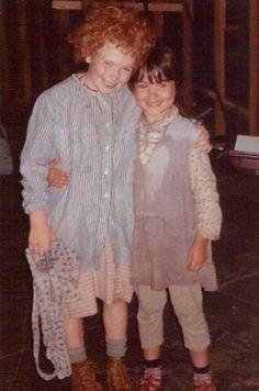 Aileen Quinn and Toni Ann Gisondi