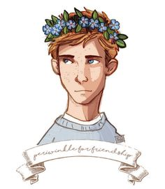 Ron  -  counting down to cursed child with Harry Potter, sweaters, and flower crowns :)