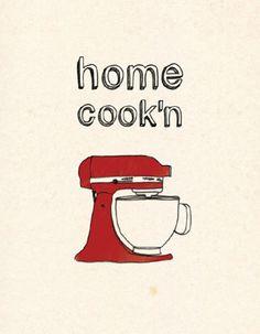 Illustration for the kitchen