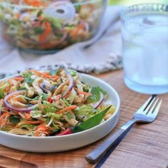 Goi Ga- Vietnamese Spicy Chicken and Cabbage Salad. Pick up a rotisserie chicken from the market and you've got a great, no-cook meal.