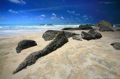 Rocks of Bangka island