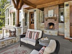 Diy Outdoor Fireplace Is Perfect Idea | Fireplace Designs