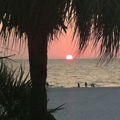 Clearwater beach in Florida...beautiful sunset!