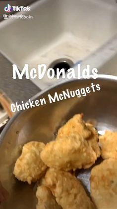 Shrimp Tacos Discover How to Make McDonalds Chicken McNuggets Easy Recipe Food TikTok How to Make McDonalds Chicken McNuggets Easy Recipe Food TikTok by Tasty Videos, Food Videos, Fun Baking Recipes, Cooking Recipes, Easy Cooking, Cooking Box, Cooking Beets, Food Cravings, Diet Recipes