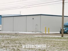 Featured Steel Building Project: Pinnacle Plastic Products in Bowling Green, Ohio. We recently completed this project for Pinnacle, a manufacturer of custom blow molded products. The addition building we built for them is 6,223 square feet.