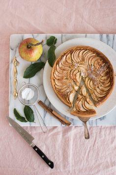 Efterårets mest perfekte æbletærte