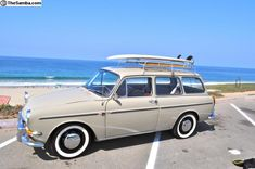 1965 VW Type 3 (Squareback) #vintage #volkswagens Perfect for Noel's surfboards!!!