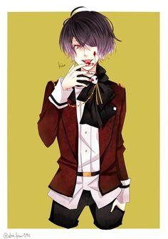 kino diabolik lovers - Buscar con Google Me Me Me Anime, Anime Guys, Diabolik Lovers Wallpaper, Manga Boy, My Spirit Animal, Sexy Men, Otaku, Kawaii, Animation