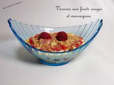 Verrines aux fruits rouges et mascarpone