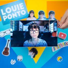 A Louie Ponto grava covers e vlogs de opinião  #FazendoArteNaDia #Scrapbooking